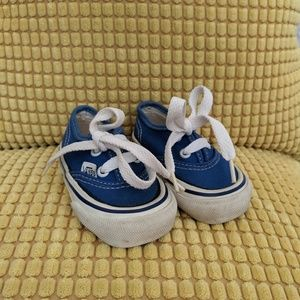 Vintage Infant Baby Vans Shoes